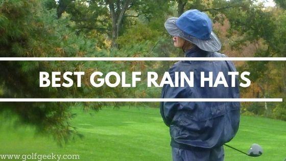 Best Golf Rain Hat